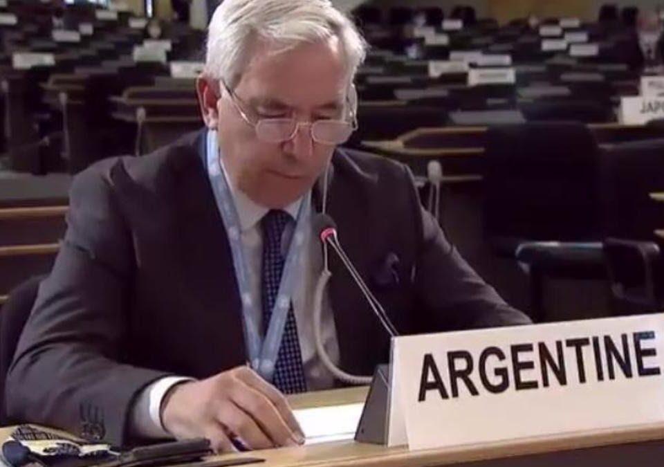 Federico Villegas, embajador argentino ante la ONU
