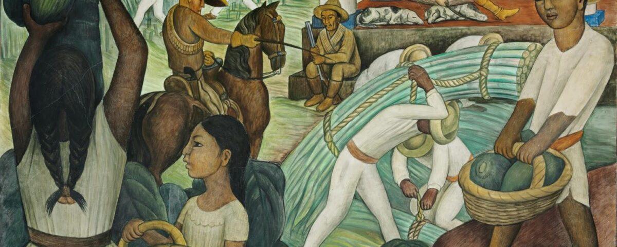 Ilustración: Caña de azúcar, Diego Rivera
