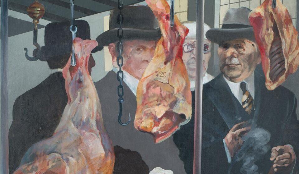 """Ilustración: """"Carne de primera N° 1"""", Carlos Alonso, 1972"""