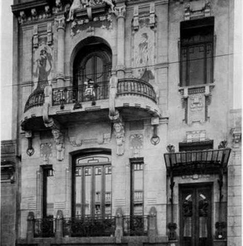 Casa Gigena-Seeber, Arquitecto Virginio Colombo.