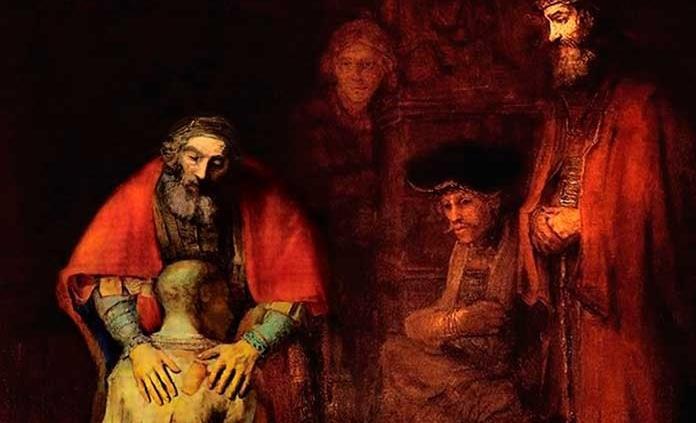 El retorno del hijo pródigo, Rembrandt (1662)